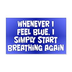 Feeling Blue Wall Decal