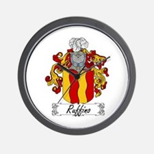 Rubini Family Crest Wall Clock