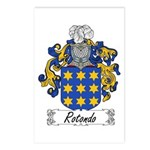 Rotondo Coat of Arms Postcards (Package of 8)