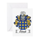 Rotondo Coat of Arms Greeting Cards (Pk of 10)