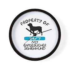 Entlebucher Senenhund Wall Clock