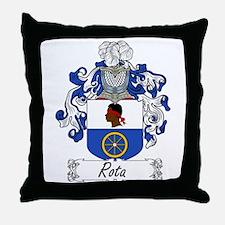Rota Coat of Arms Throw Pillow