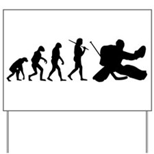 The Evolution Of The Hockey Goalie Yard Sign