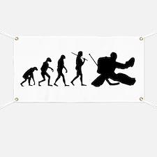 The Evolution Of The Hockey Goalie Banner