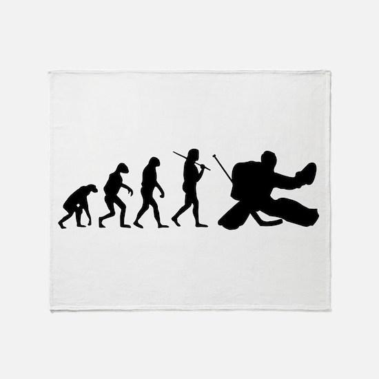 The Evolution Of The Hockey Goalie Throw Blanket