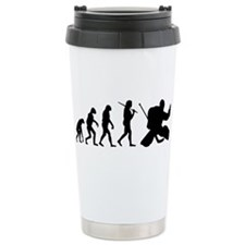 The Evolution Of The Hockey Goalie Travel Mug