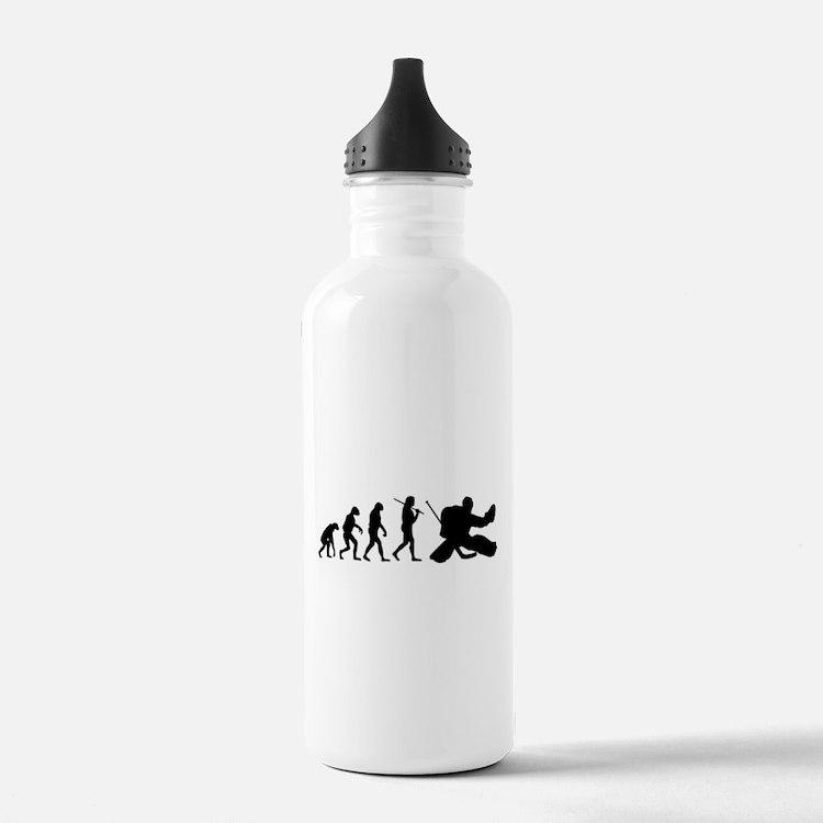 The Evolution Of The Hockey Goalie Water Bottle