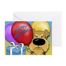 Airedale Birthday Greeting Card