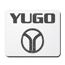 Yugo Cars Mousepad