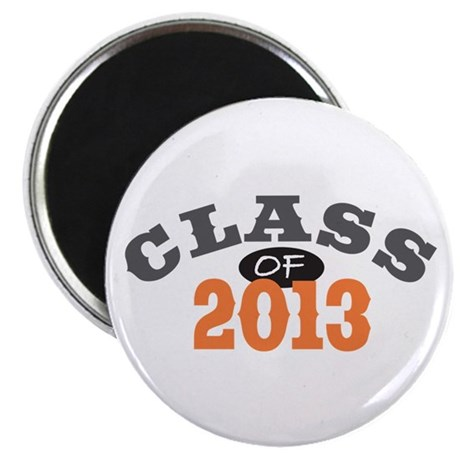 Class Of 2013 Orange Magnet