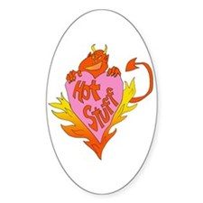 Hot Stuff Valentine Decal