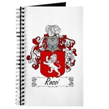 Rossi Family Crest Journal