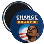 "Recalculating Obama 2.25"" Magnet (10 pack)"