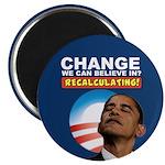 Recalculating Obama Magnet