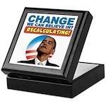 Recalculating Obama Keepsake Box