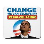 Recalculating Obama Mousepad