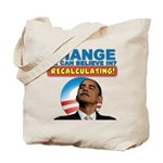 Recalculating Obama Tote Bag