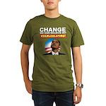 Recalculating Obama Organic Men's T-Shirt (dark)