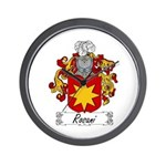 Rosani Coat of Arms Wall Clock
