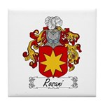 Rosani Coat of Arms Tile Coaster