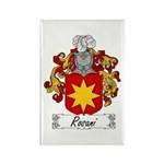 Rosani Coat of Arms Rectangle Magnet