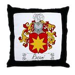 Rosani Coat of Arms Throw Pillow