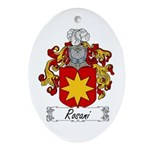 Rosani Coat of Arms Oval Ornament