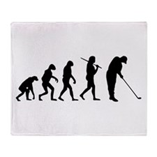 The Evolution Of The Golfer Throw Blanket