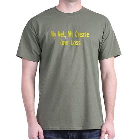 My Net, My Crease Dark T-Shirt