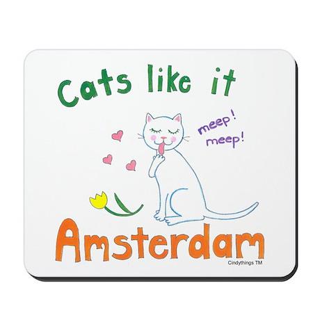 Cats Like It Mousepad