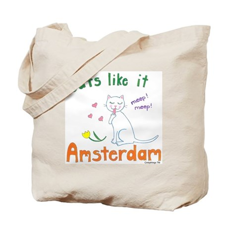 Cats Like It Tote Bag