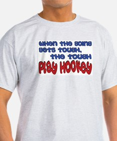Tough Play Hockey Ash Grey T-Shirt