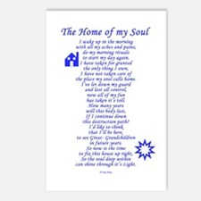 Home of My Soul Postcards (Package of 8)