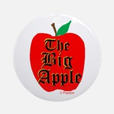 THE BIG APPLE Ornament (Round)