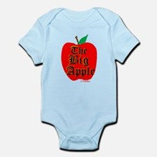 THE BIG APPLE Infant Bodysuit