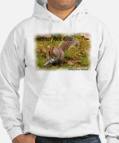 Krazy Irish Protect Your Nuts Hoodie