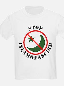 Stop Islamofascism Kids T-Shirt