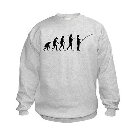 The Evolution Of The Fisherman Kids Sweatshirt