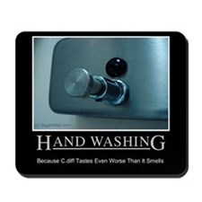 Infection Control Humor 01 Mousepad