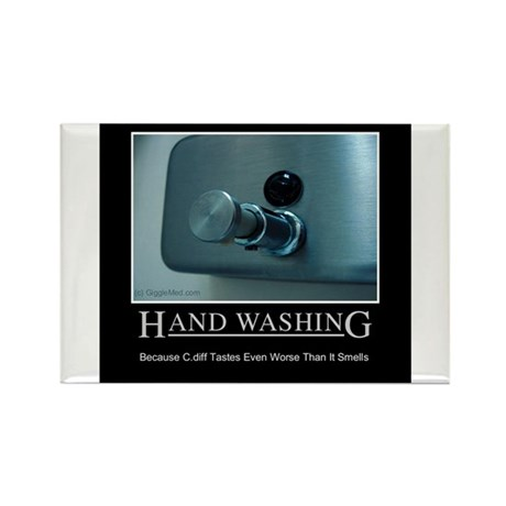 Infection Control Humor 01 Rectangle Magnet