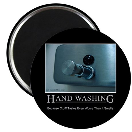 "Infection Control Humor 01 2.25"" Magnet (100 pack)"