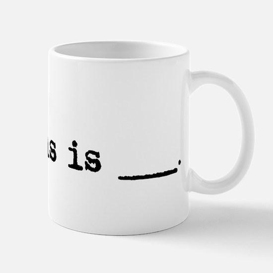 Jesus Is Mug