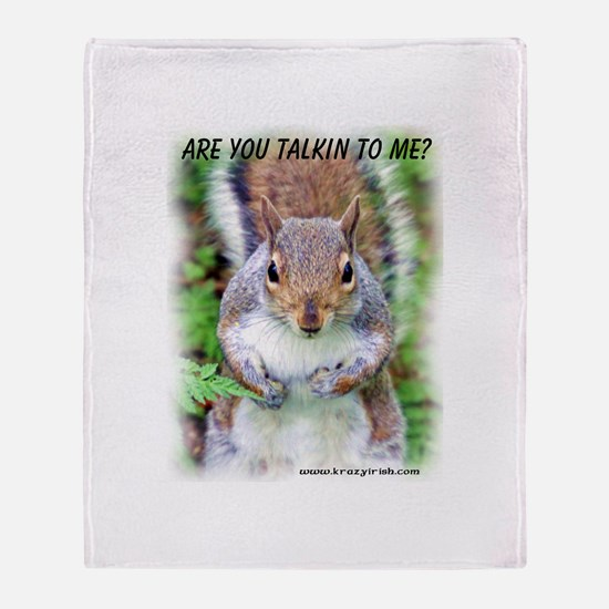 Are You Talkin To Me Throw Blanket