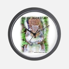 Are You Talkin To Me Wall Clock
