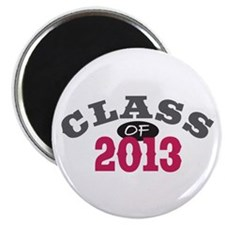 "Class Of 2013 Red 2.25"" Magnet (10 pack)"