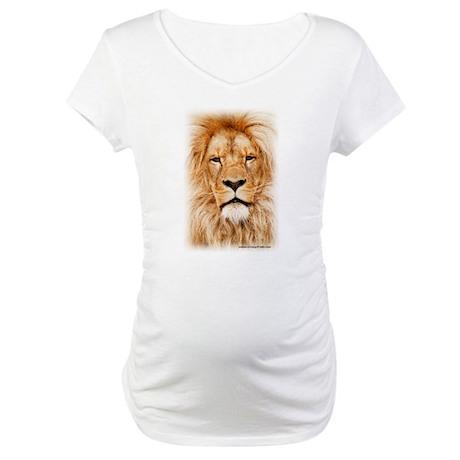 Krazy Irish Lion Maternity T-Shirt