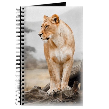 Krazy Irish Lioness Journal