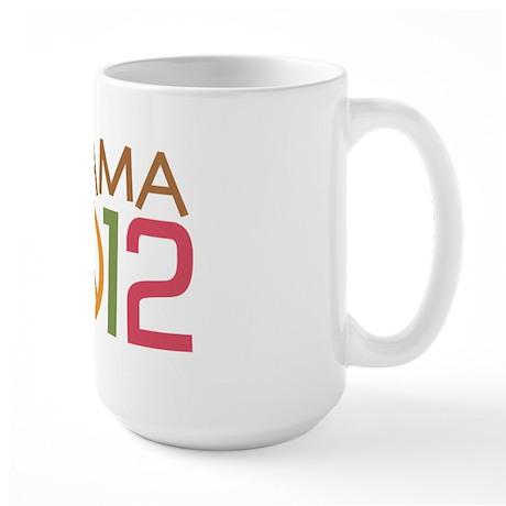 Obama 2012 Peace Large Mug