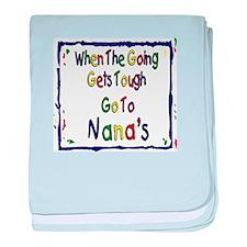 Go To Nana's baby blanket