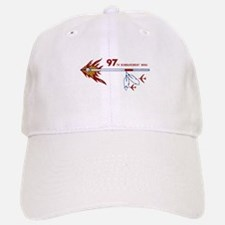 Flaming Spear Baseball Baseball Cap